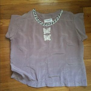 Christian Dior lavender Top